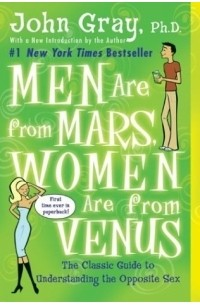 a literary analysis of men are from mars women are from venus by john gray