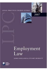 Отзывы о книге Employment Law (Blackstone Legal Practice Course Guide)