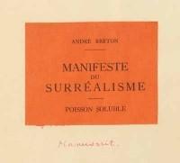 Андре Бретон - Манифест сюрреализма