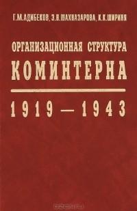 - Организационная структура Коминтерна. 1919-1943