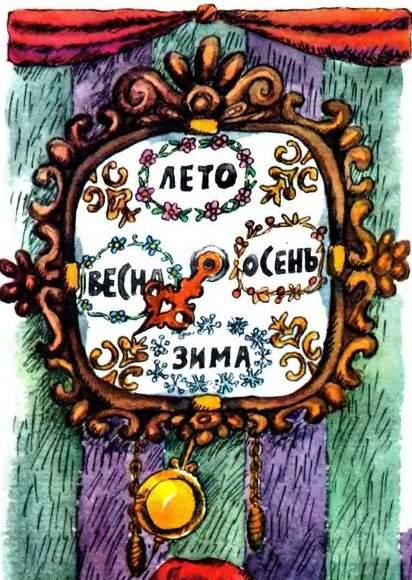 картинки волшебные часы