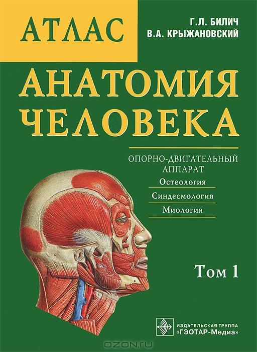 Книга анатомический атлас скачать