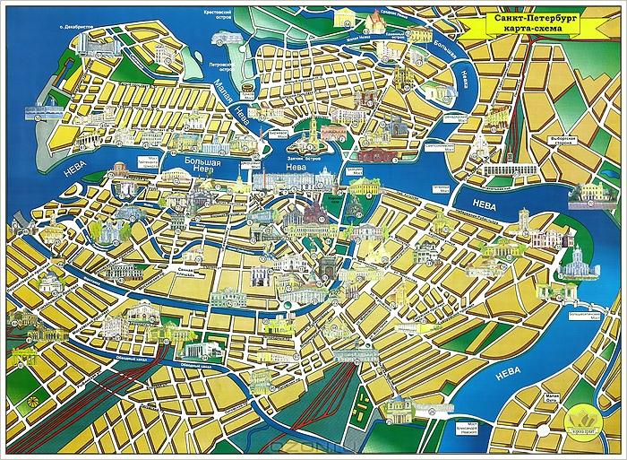 Карта-схема — М. Зимина