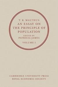T. R. Malthus - An Essay on the Principle of Population 2 Volume Paperback Set (2 Volumes)