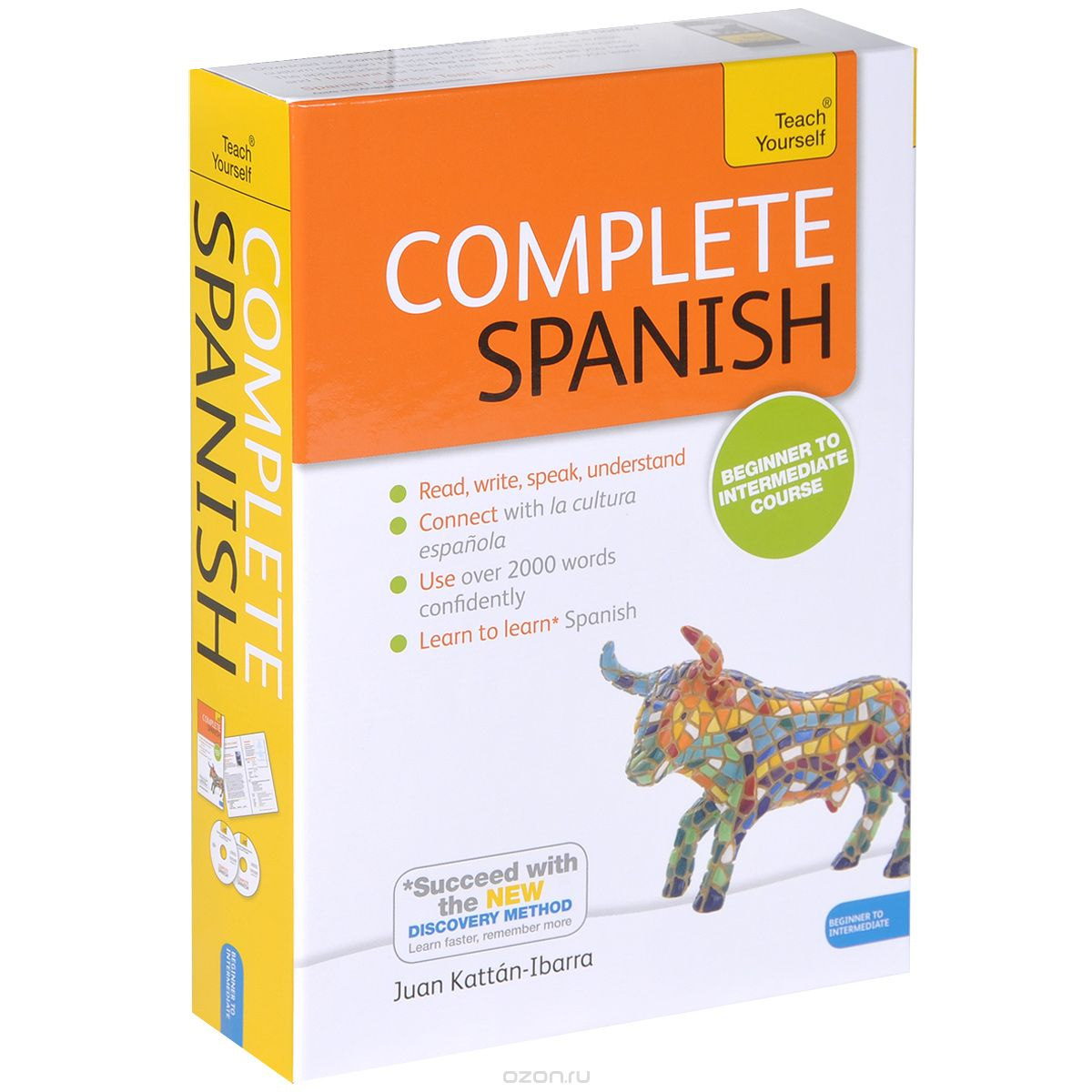 How long to learn Spanish teaching myself?