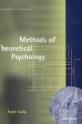 André Kukla - Methods of Theoretical Psychology