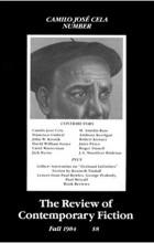 - The Review of Contemporary Fiction : Vol. IV, #3 : Camilo Jose Cela