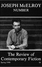 - The Review of Contemporary Fiction : Vol. X, #1 : Joseph McElroy