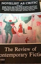 - The Review of Contemporary Fiction : Vol. VIII, #3 : The Novelist as Critic