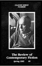 - The Review of Contemporary Fiction : Vol. V, #1 : Claude Simon