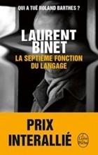 Laurent Binet - La septième fonction du langage