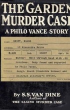 S. S. Van Dine - The Garden Murder Case