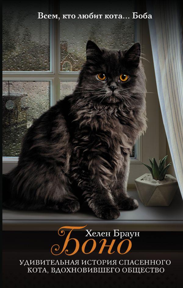 «Боно. Удивительная история спасенного кота, вдохновившего общество» Хелен Браун