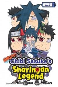 - Naruto. Chibi Sasuke's Sharingan Legend. Volume 3